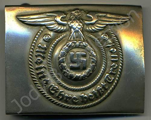My SS Buckle with full Overhoff Logo