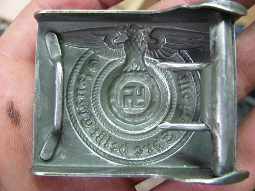 SS men enlisted buckle good or bad?