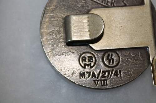 Buckle #5 Please help to ID and verify