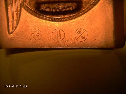 S.S. nickle silver markings ??