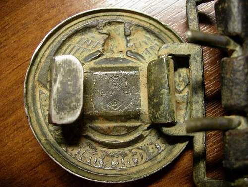 Overhoff officers belt/buckle?