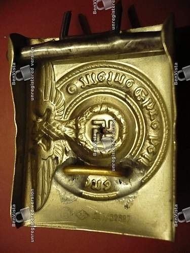 Some more fake SS buckles?