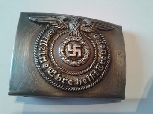 SS belt fake or real