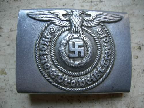 SS 822/38 belt buckle