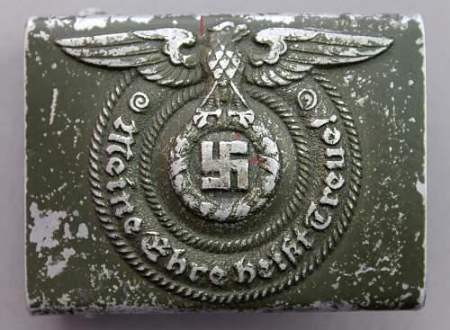 SS Belt buckle RZM 36/38