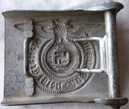 Relic/ground find SS Buckle opinions
