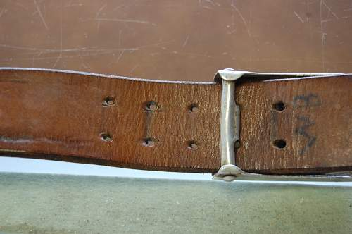 SS Buckle 155/39 with belt has arrived!