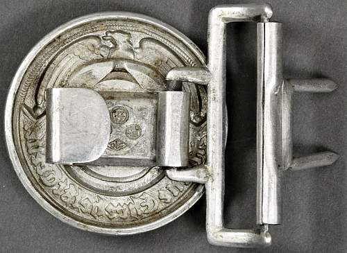 Please Review...SS Officer's Buckle...May go after???