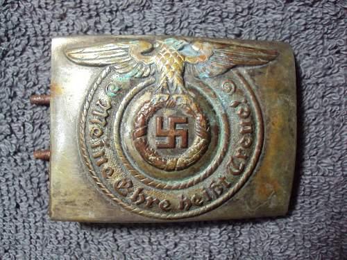Ss buckle em steel nickel plated brass ???