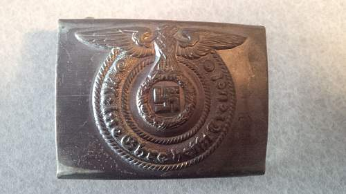 Real? SS Buckle