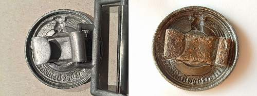 SS Officers buckle: Fake or Real
