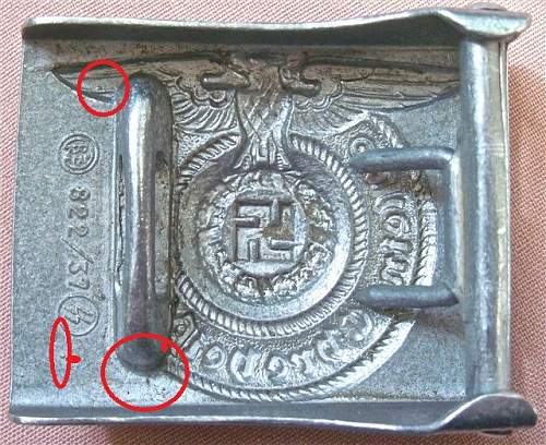 822/37 SS Buckle - Opinions Please