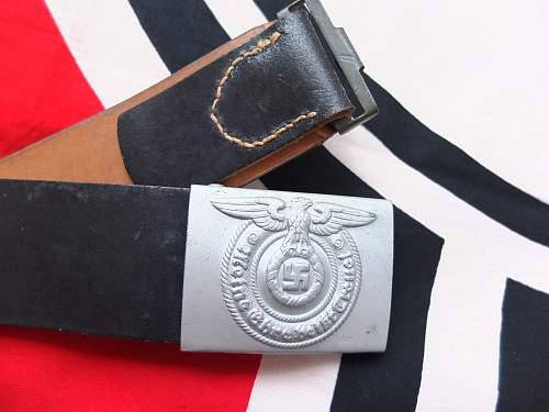SS Belt Buckle with belt - Origianl/Fake?