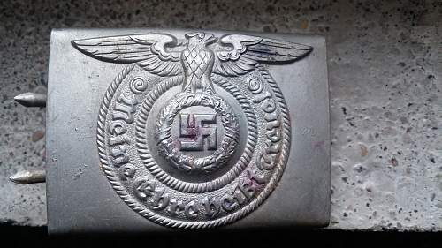 RZM 822/38 SS belt buckle - Original/Fake and ~price