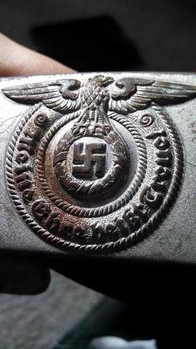 SS enlisted buckle and belt