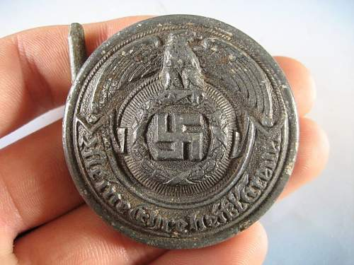 Officer SS belt buckle - Original/Fake?