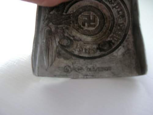 SS Buckle - Authenticate or Fake? How to tell??