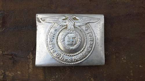 ss buckle fake?
