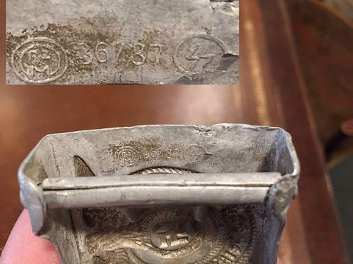 SS buckle semirelic what maker?