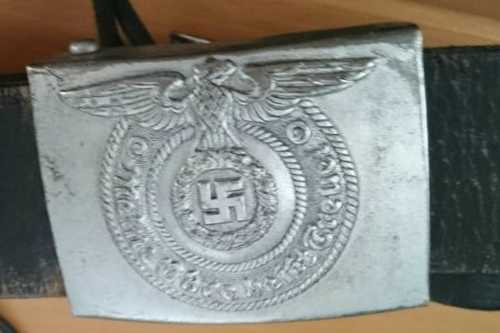 SS buckle and belt fake?