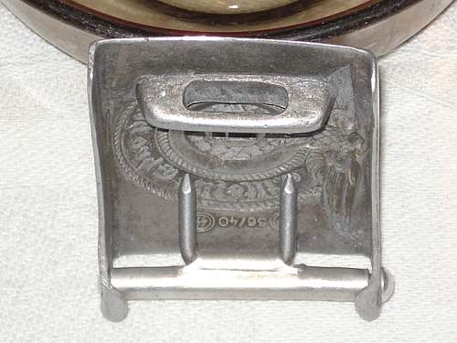 SS buckle help please