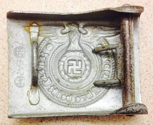 SS buckle, 36/42 ....I know there are original and fakes of this Overhoff.