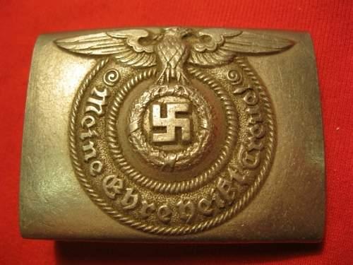 Is this a original waffen ss belt buckle?
