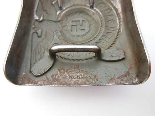 Steel SS Buckle RODO