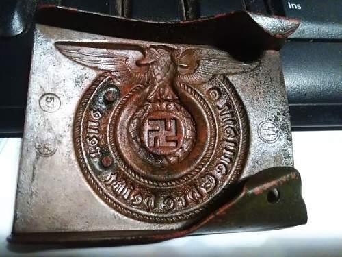 NEED HELP! SS belt buckle
