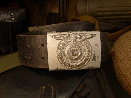 Late War Overhoff & Cie on correct leather belt.