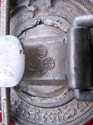 Officer's Buckle