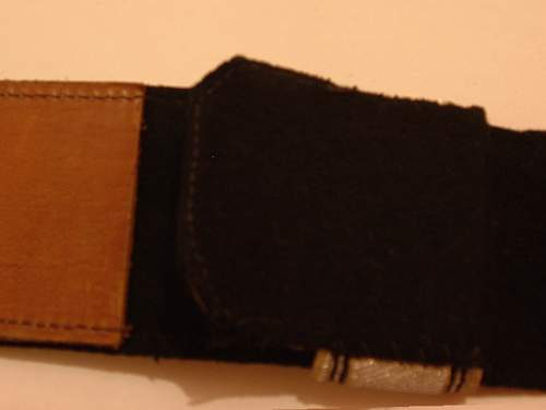 36/38 Officer buckle and Brocade
