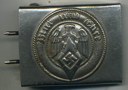 Hitler Youth buckle and Waffen SS em Belt buckles: Authentic?