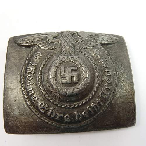 SS buckle Real or Fake, need help!
