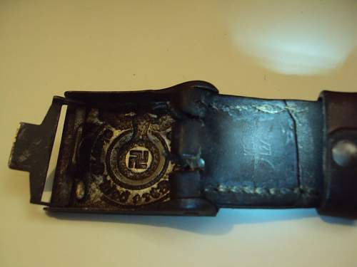 And a belt buckle SS RZM 155/40