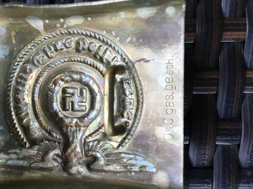 SS O&C ges gesch Buckle--Is this real?