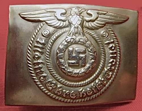Need Opinions on Early SS Belt Buckles