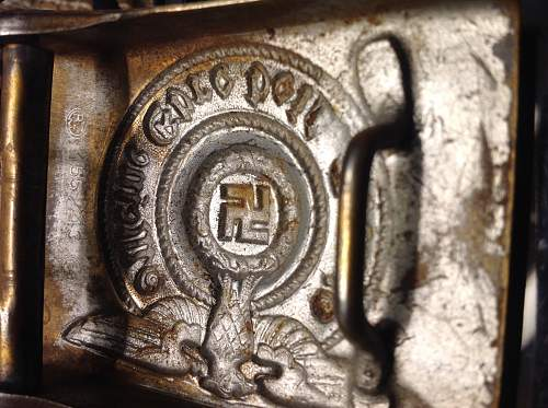SS 155/43 Buckle authentic?
