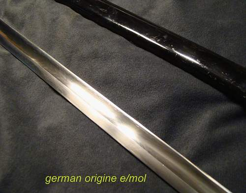 SS sword i've been offered....