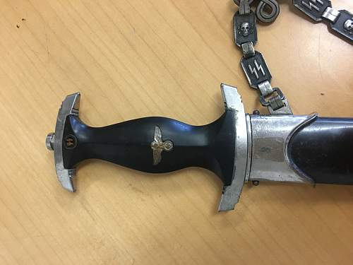 SS dagger out of the woodwork