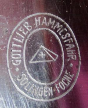 Early SS dagger by Gottlieb Hammesfahr