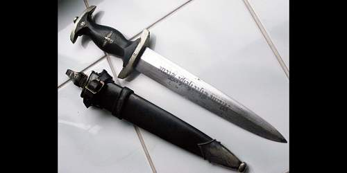 Real or fake SS dagger?/
