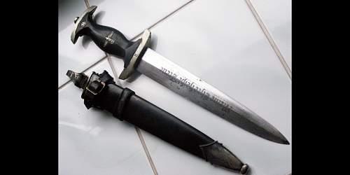 Real or fake SS dagger?/