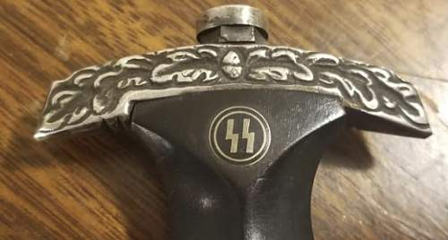 SS Dagger Abr. Herder - New or Real?