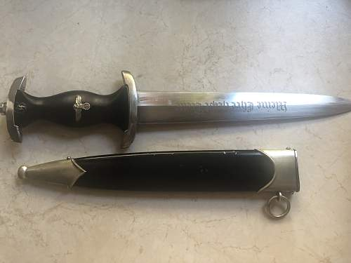 SS rzm 121/34 dagger , real or fake?