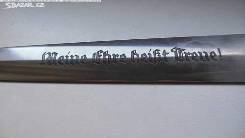 original or fake Jacobs SS dagger blade