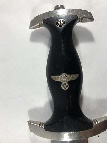 Strange SS DAGGERS BY HAMMESFAHR WITH DEDICATION (GIFT DAGGERS)