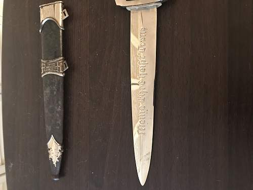 SS rzm m7/14 dagger real or fake?