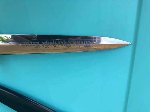 SS M-33 dagger 941/37 (Eickhorn)