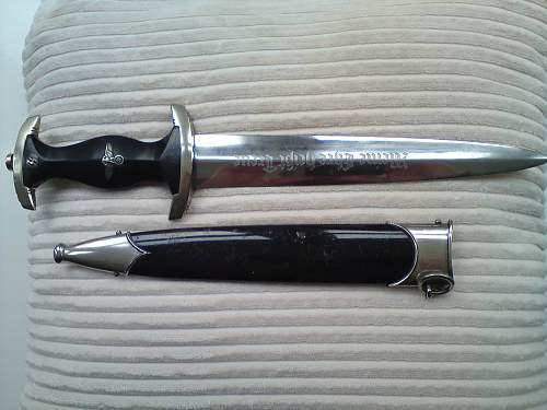 SS Dagger With original owners I.D.